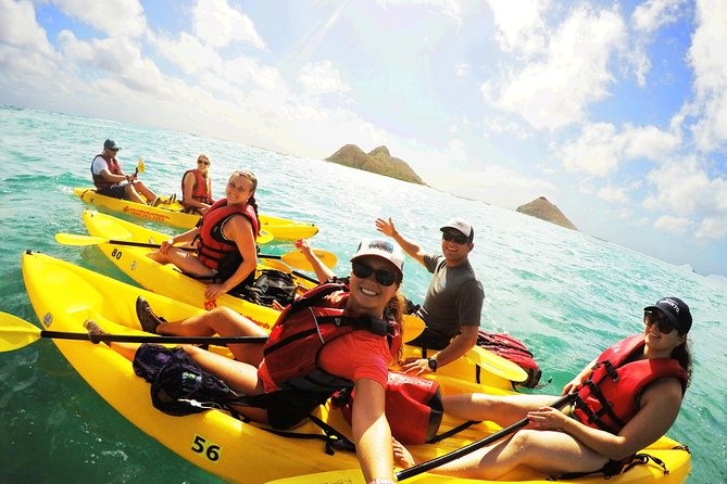 Self Guided Kayaking Discovery in Kailua