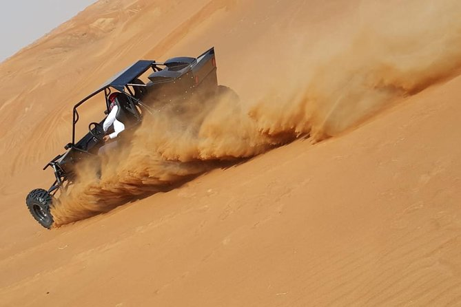 Dune Explorer( Dune Buggy ride,Falcon Show,Camel Ride & Sheesha-Twin Sharing)