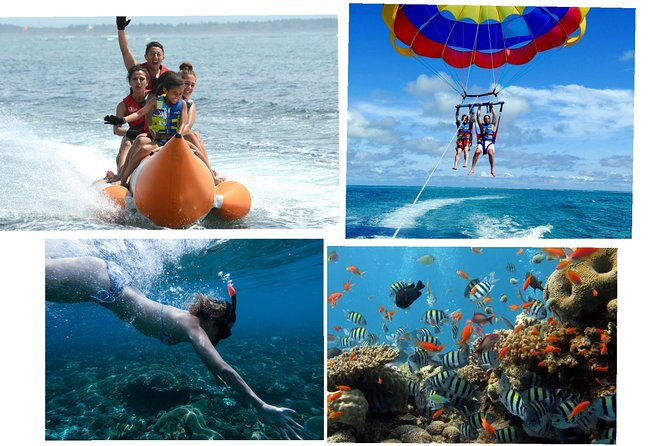Bali exotic beaches tour with water sports