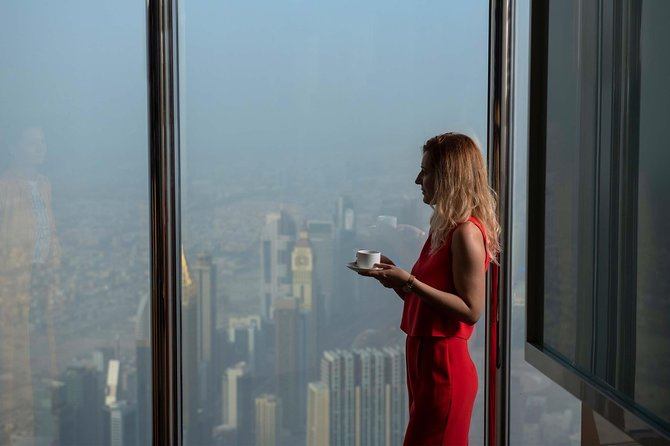 Burj Khalifa: At the Top (125th floor) & Lunch or Dinner at Roof Top Combo photo 6