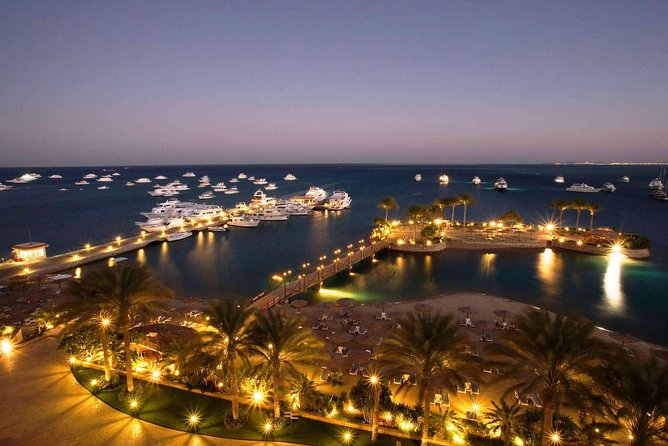 Night City Tour VIP with Dinner & Egyptian Show - Hurghada German