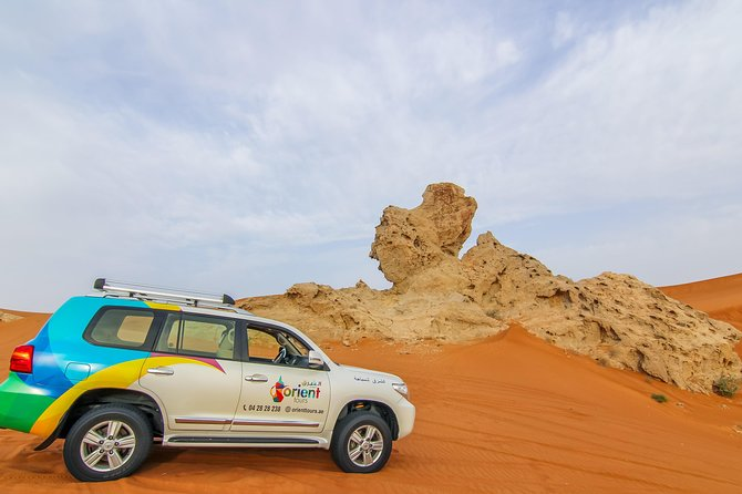 4x4 Hatta Safari to Fossil Rock & Honey Garden visit with Breakfast