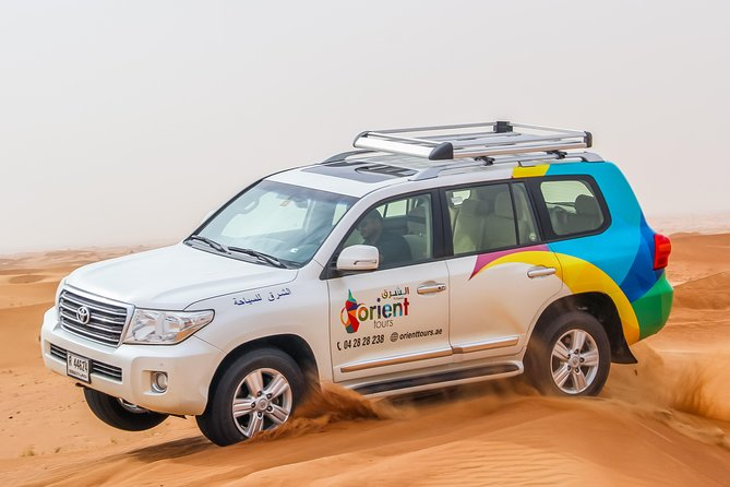 Dubai Desert 4x4 Safari with Camp activities, BBQ Dinner & Live shows