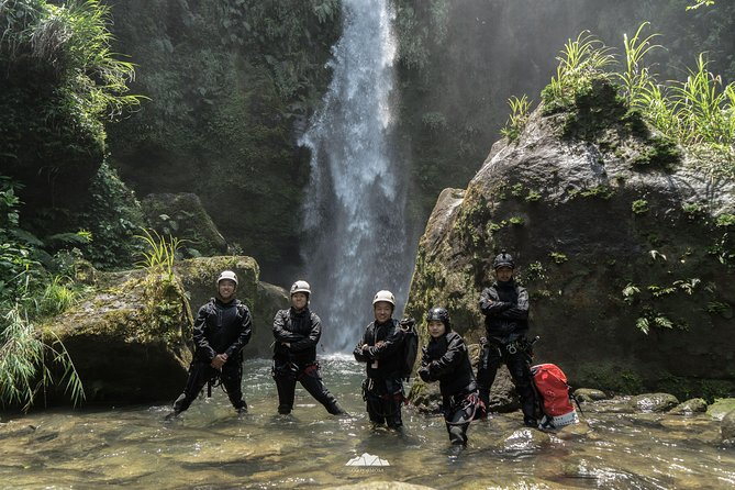 Taipei River Tracing and Waterfalls Rappelling 1-Day Package