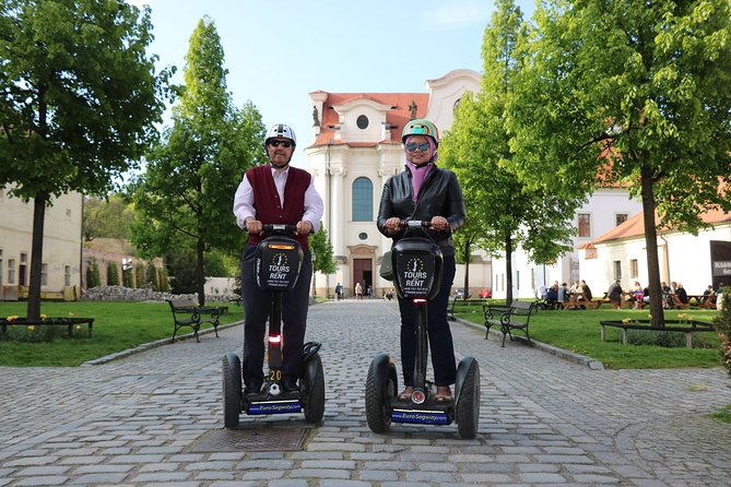 Prague Segway Tour - Private 3-hour Double Monastery & Brewery Tour