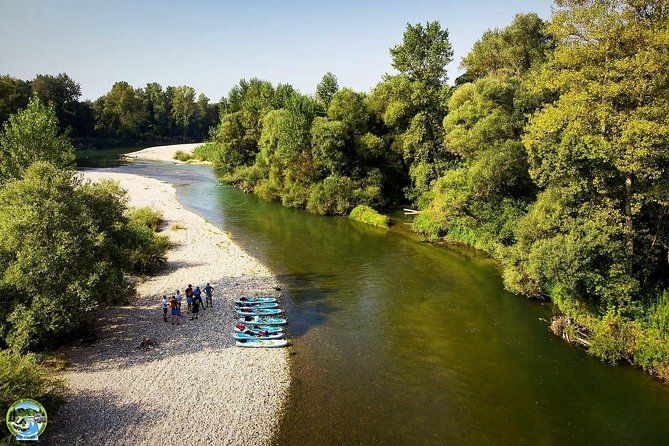 Drava Sup Exploring Adventure