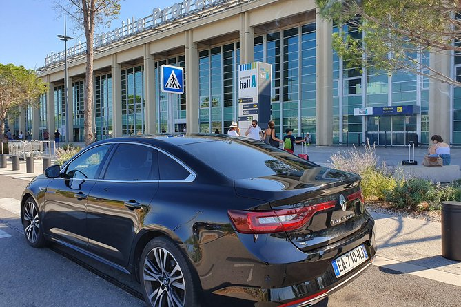 Private transfer by car: Marseille airport to / from Cassis-La Ciotat