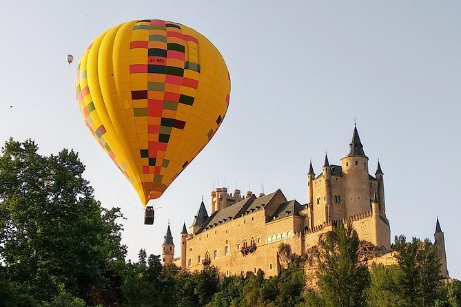 Hot Air Balloon Ride Over Toledo or Segovia with Optional Transport from Madrid