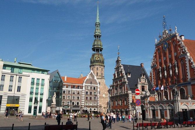 Old Riga Walking Tour / Riga Altstadt Spaziergang