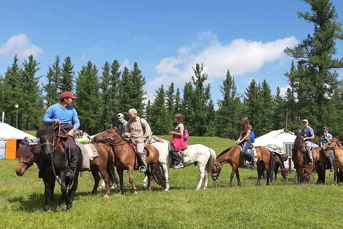 5 Days horseback riding a practical training 'teaching'