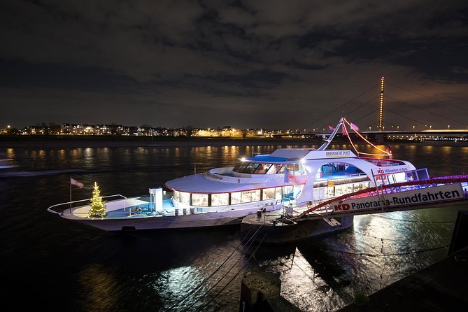 Düsseldorf Rhine River Christmas Dinner Cruise