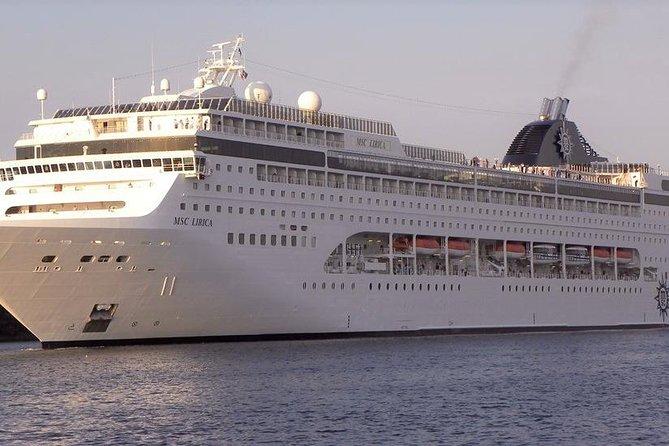 Private transfer service, MSC Lirica, Venice cruise terminal, Marco Polo airport
