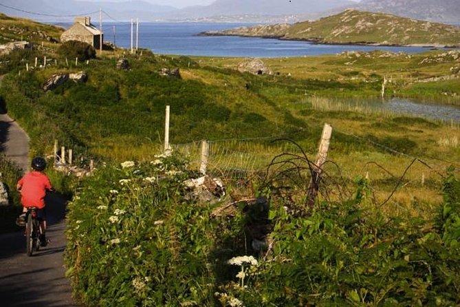 Cycling on Inishbofin Island, Connemara Coast. Self guided. Full Day.