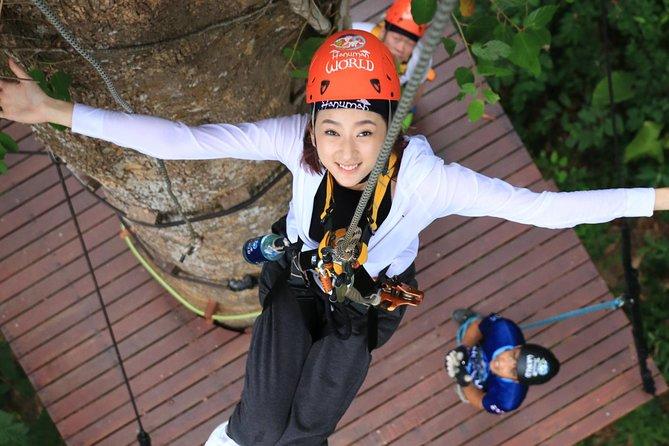 Phuket Hanuman World Zipline Adventure Tickets (World A)