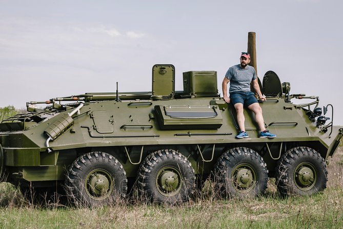 Tank Driving Tour | BTR Military Experience |