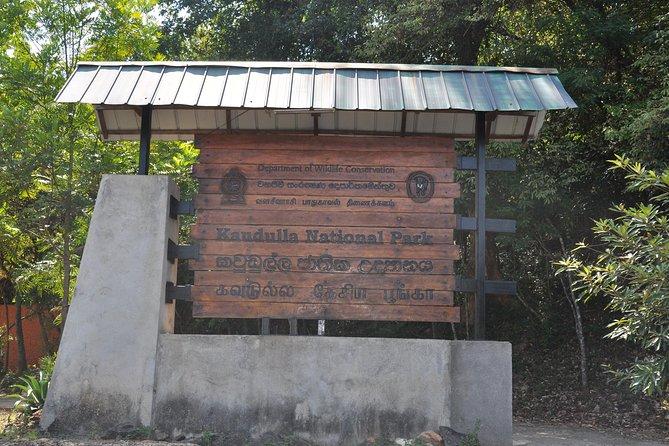 Kaudulla National Park Entrance Ticket