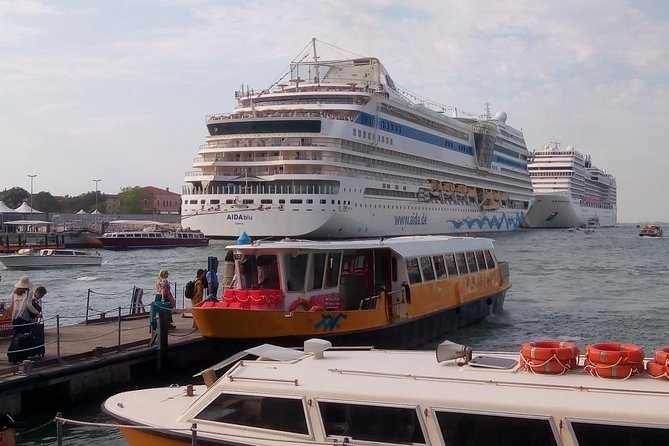Private transfer, MSC Sinfonia, Venice cruise terminal, Marco Polo airport