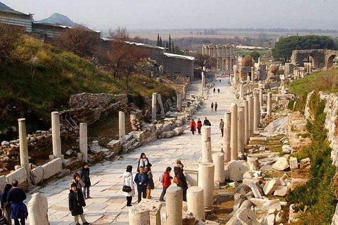 Ancient City of Ephesus & Sirince Turkish Village Tour From Kusadasi