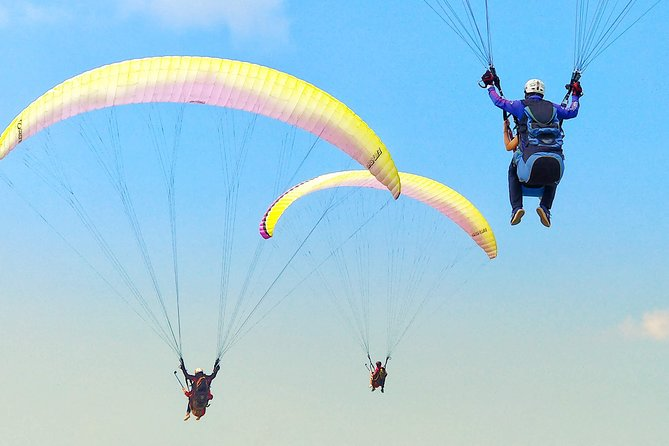 Best Bali Paragliding, Photo/Video with Free SD Card (15 Minutes Flight)