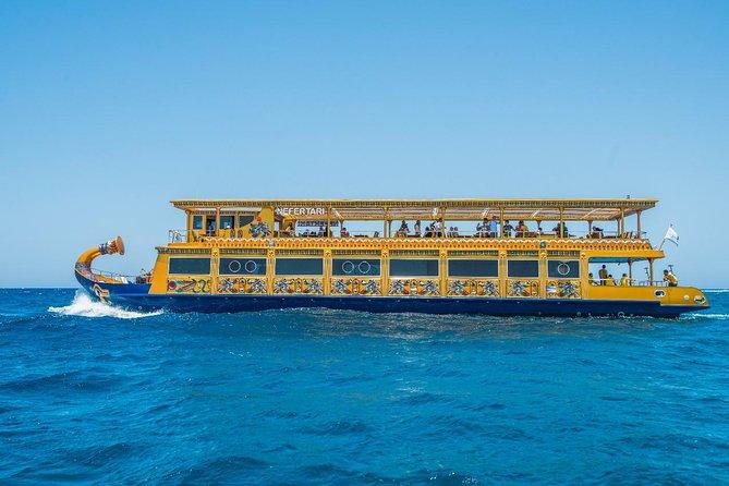 Nefertari boat & half sub-boat snorkel excursion - Marsa Alam
