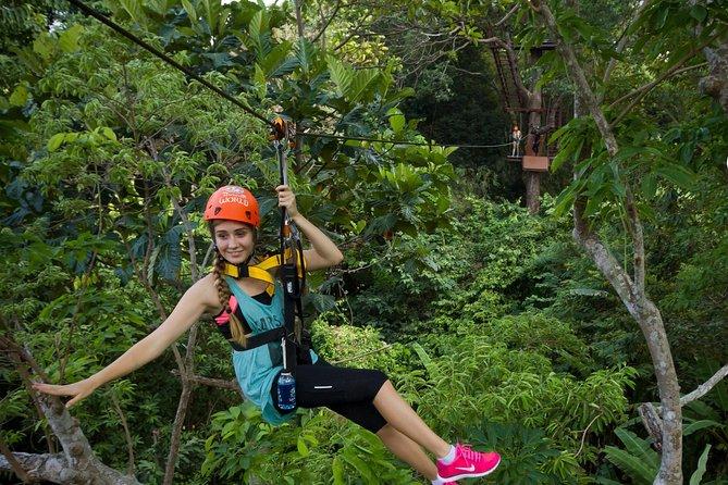 Phuket Hanuman World Zipline Adventure Tickets (World C)