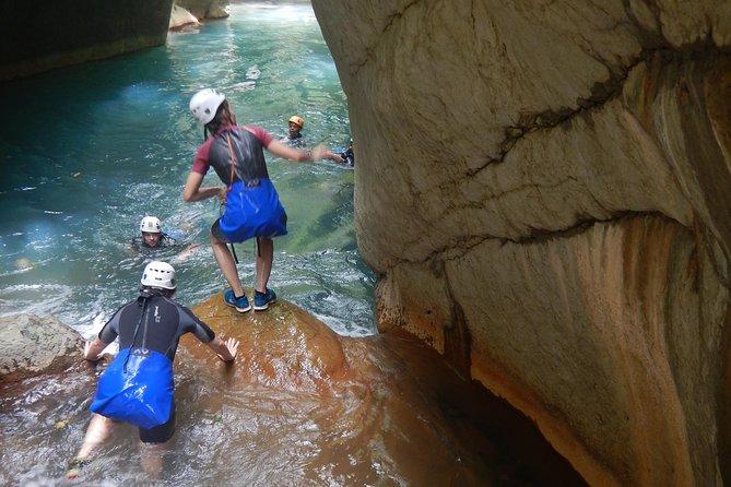 Water Canyon Excursion 69 Euros - Excursion Canyon Aquatique 65 Euros