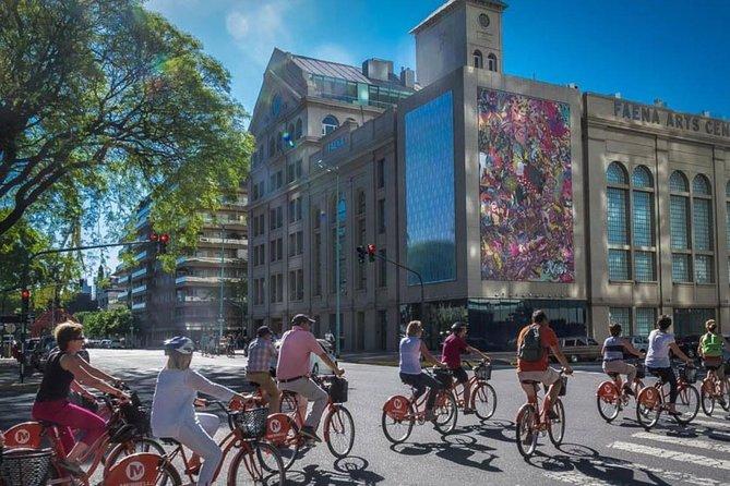 Passeio de bicicleta por Buenos Aires: distritos de San Telmo e La Boca