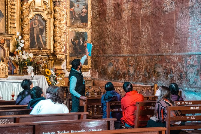 Day trip along the Andean Baroque Route and South Valley