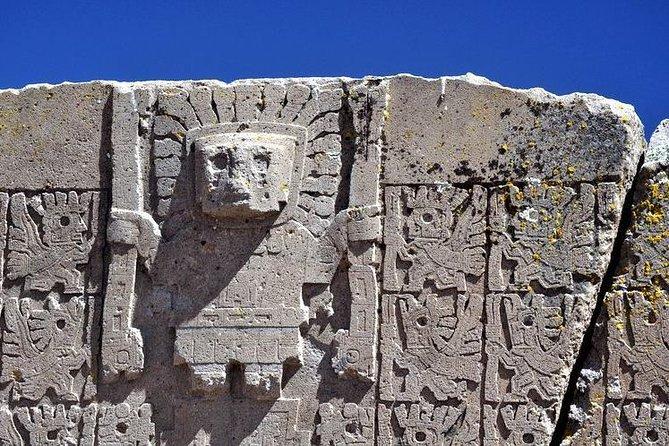 RUÍNAS DE TIWANAKU. Centro Espiritual e Político da Cultura Tiwanaku.