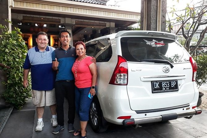 Bali Private Car Charter with English Speaking Driver