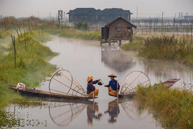 Inle Lake Land transfer from Mandalay