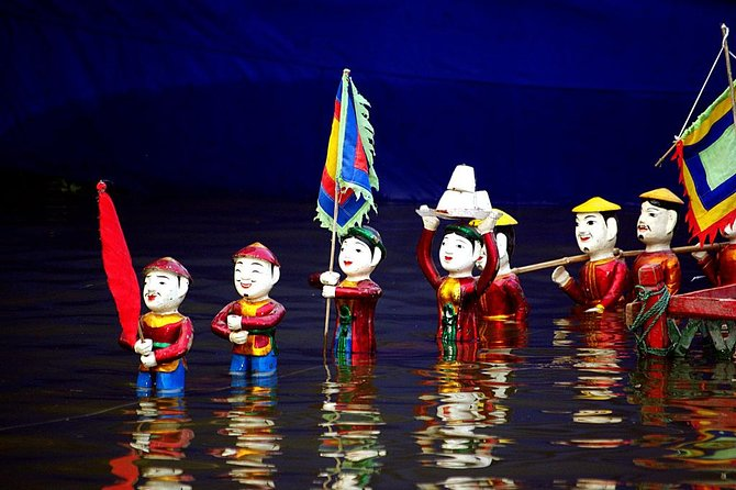 Skip the Line: Thang Long Water Puppet Entrance Ticket