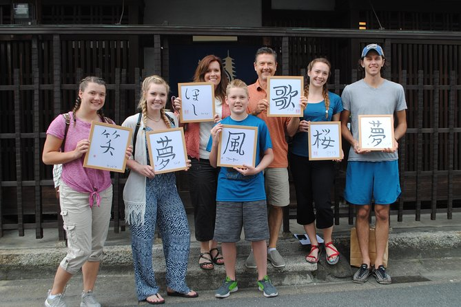 Japanese Calligraphy Experience in Nara