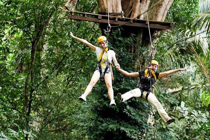 Flying Hanuman Zipline 42 Platforms With Free Transfer