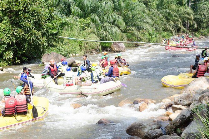 Whitewater Rafting 5 KM with ATV Adventure 1 hr