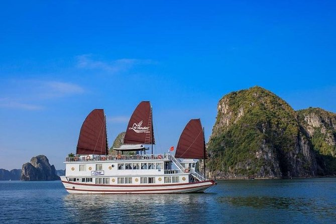 Halong Bay 2 days/ 1night tour on Lavender Cruise