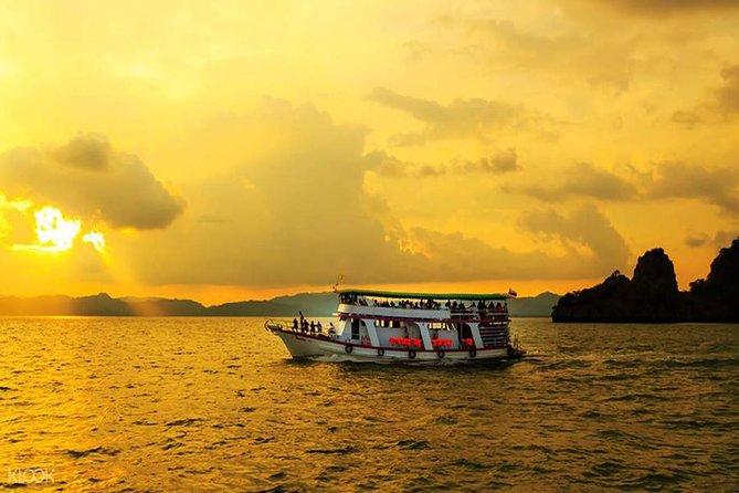 Sunset Phang Nga Big Boat