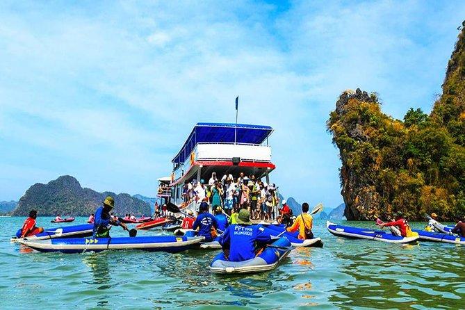 Phang Nga Sea Canoe by Big Boat Tours with Lunch