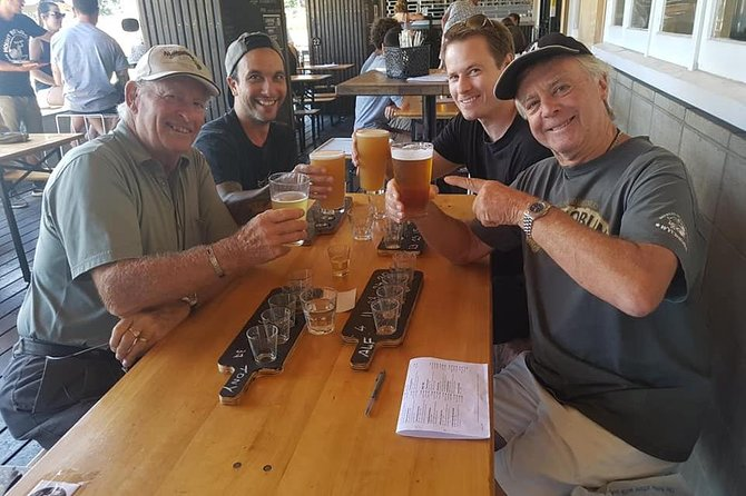 Craft Beer Tour Taste your way through Taurangas best breweries