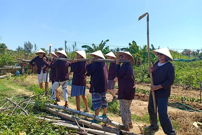 Farmer Experience & Foot Massage- Hoi An Half Day Private Tour