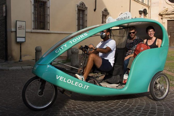The beauty of Parma - One-hour Rickshaw Tour
