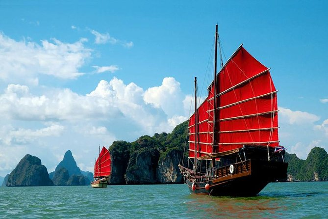 Magical Cruise Trip by June Bahtra at Phang Nga Bay