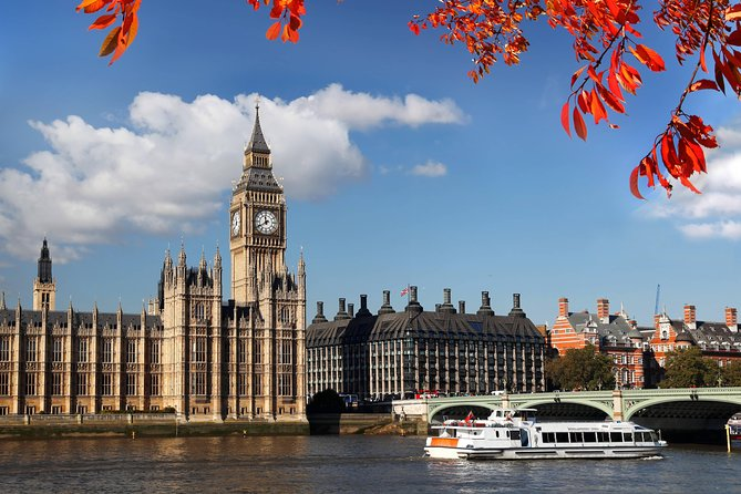Westminster to Tower of London Hop-On-Hop-Off Cruise
