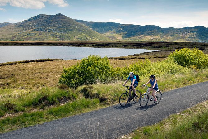 E-Bike Westport & the Great Western Greenway, County Mayo. Self Guided. Full Day