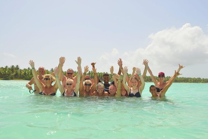 Saona island excursion vip # 1 small beach singing group. Visit 5 beaches.