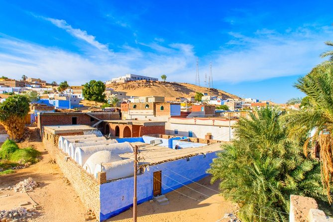 Nubian village from Aswan city