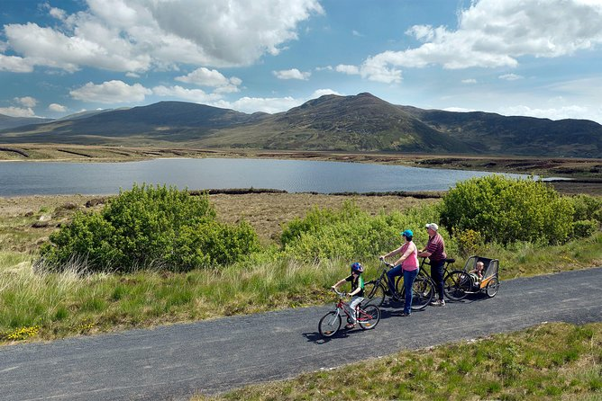 Cycling Westport & the Great Western Greenway, County Mayo. Self Guided.Full Day