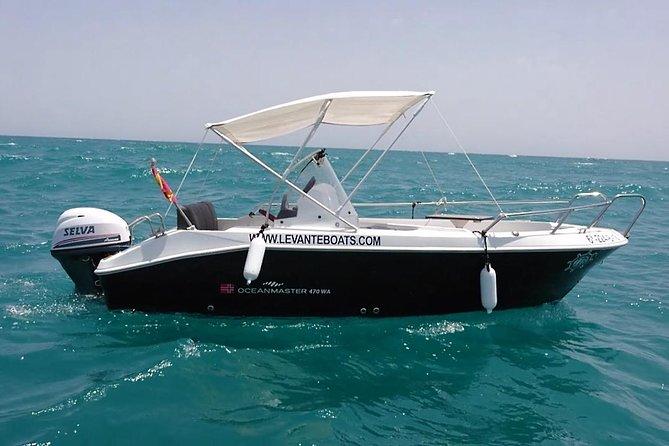 Boat rental Torrevieja LEVANTE BOATS, OCEAN MÁSTER 470wa sport