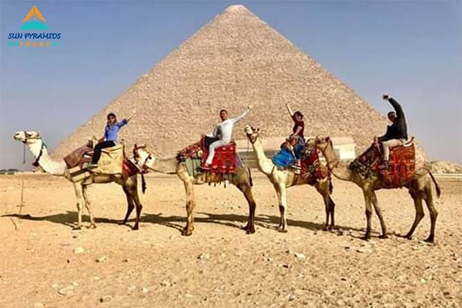 Giza Pyramids by Camel photo 1