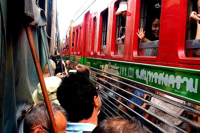 Floating Market & Railway Market & Boat Ride & Coconut Farm From Bangkok